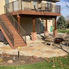 Flagstone Patio 11