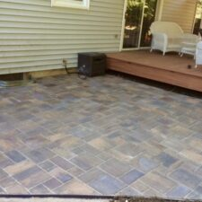 Paver Patio 6